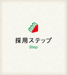 採用ステップ