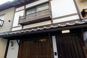 五条壬生川の京町屋