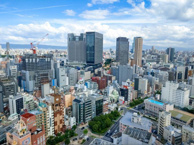大阪難波車站前的辦公大樓開發案公布