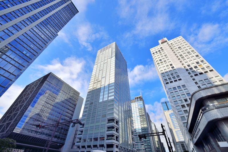 東京都心五區辦公大樓空室率連續七個月低於2%