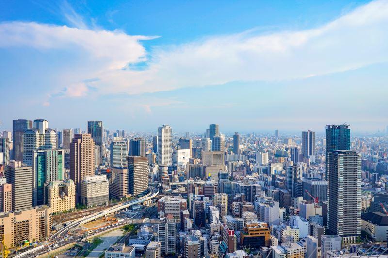 高級出租公寓首度插旗大阪超高層複合大廈