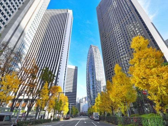 東京都心辦公室空置率3.41%